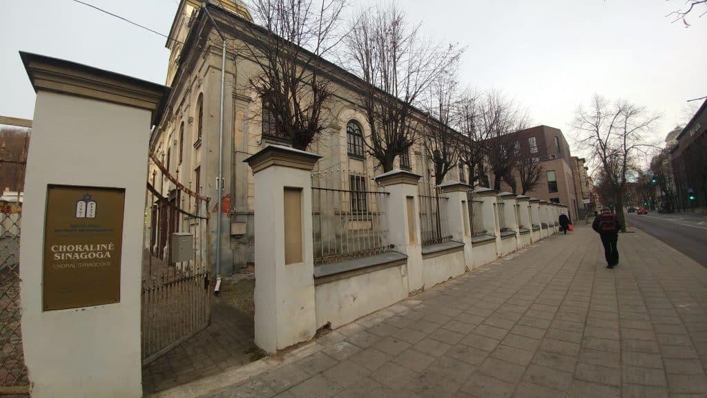 קובנה עם ילדים - בית הכנסת Choraline
