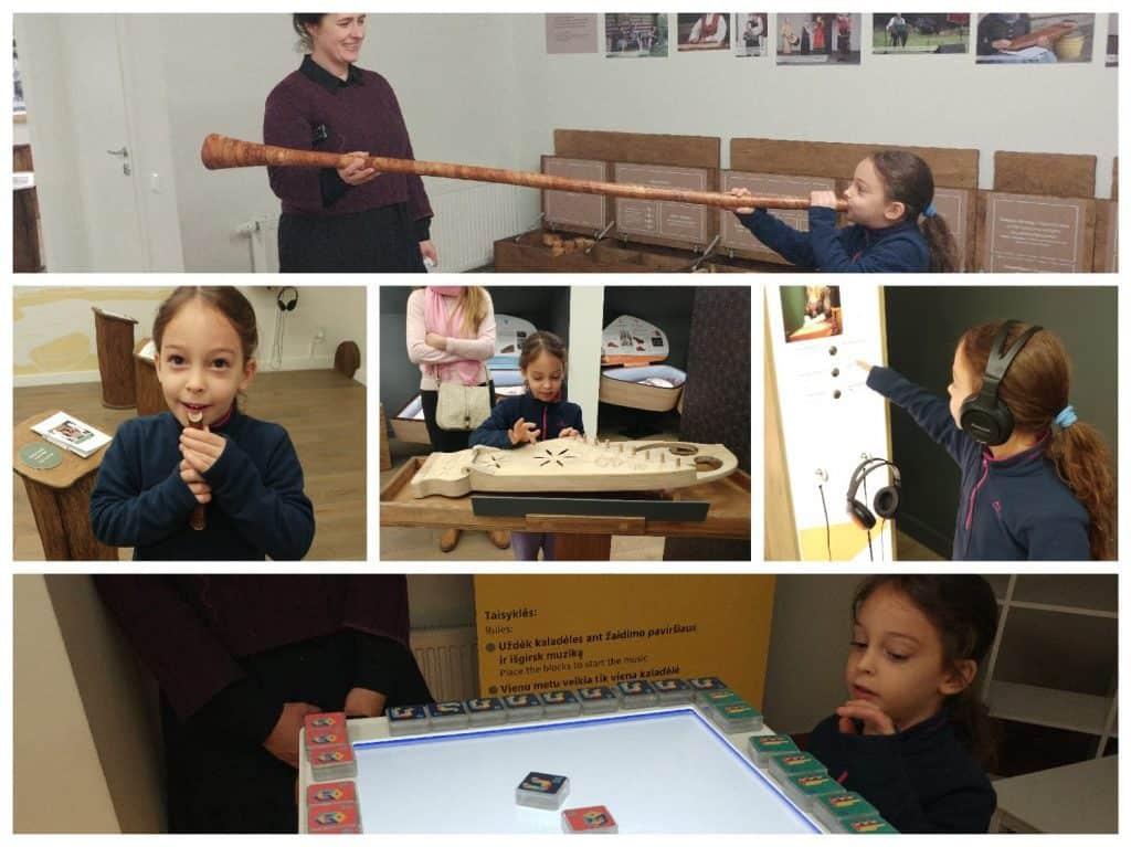 קובנה עם ילדים - מוזיאון המוזיקה