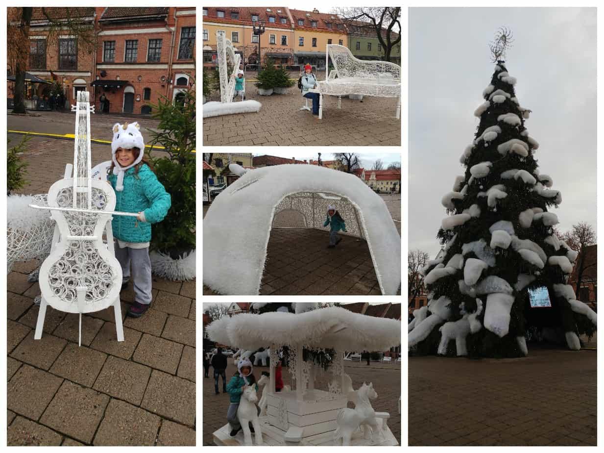 קובנה עם ילדים - Town Hall Square