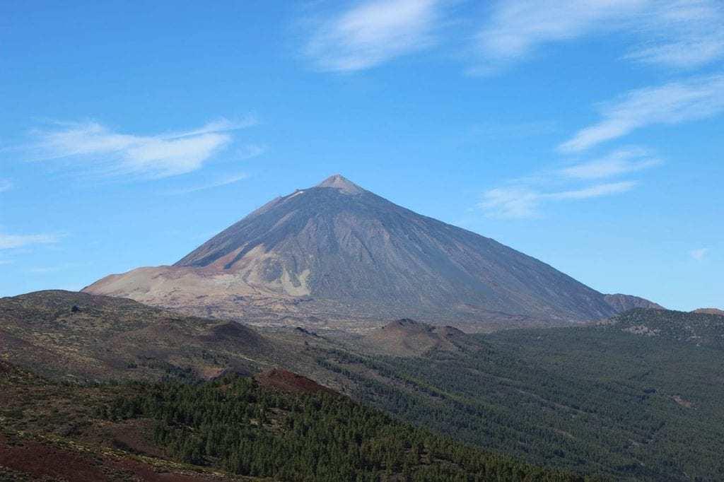 טנריף עם ילדים - הר הגעש טיידה Teide
