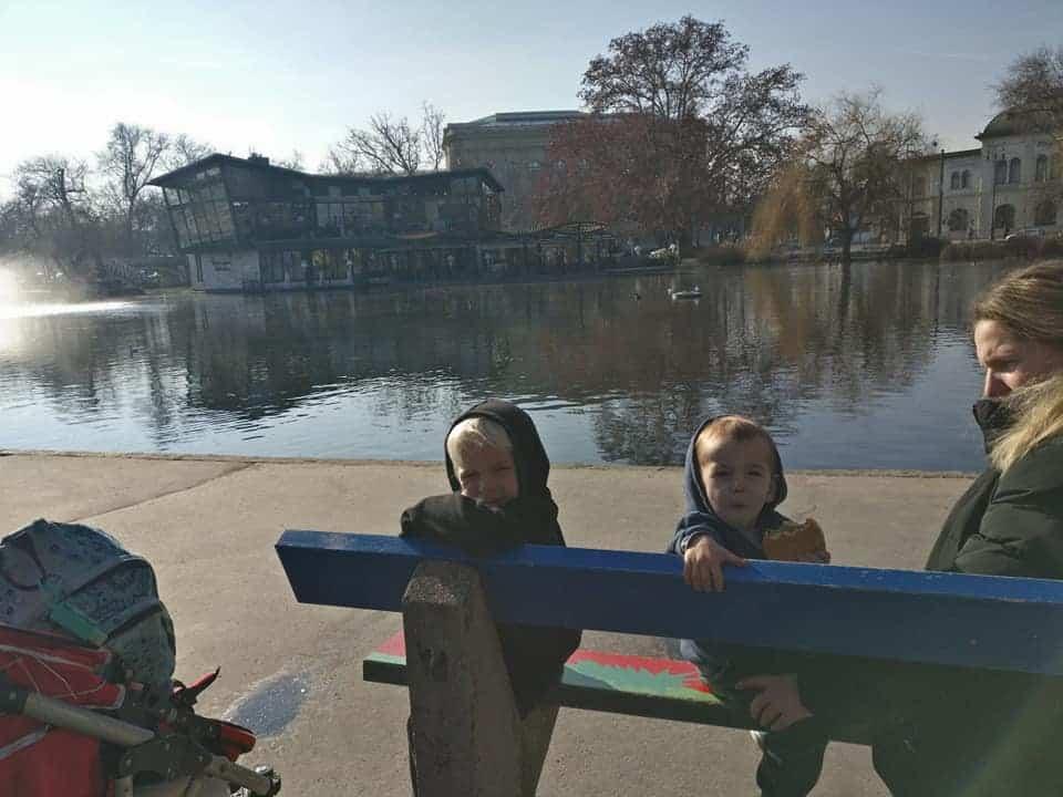 בודפשט עם ילדים בחורף - בעיר