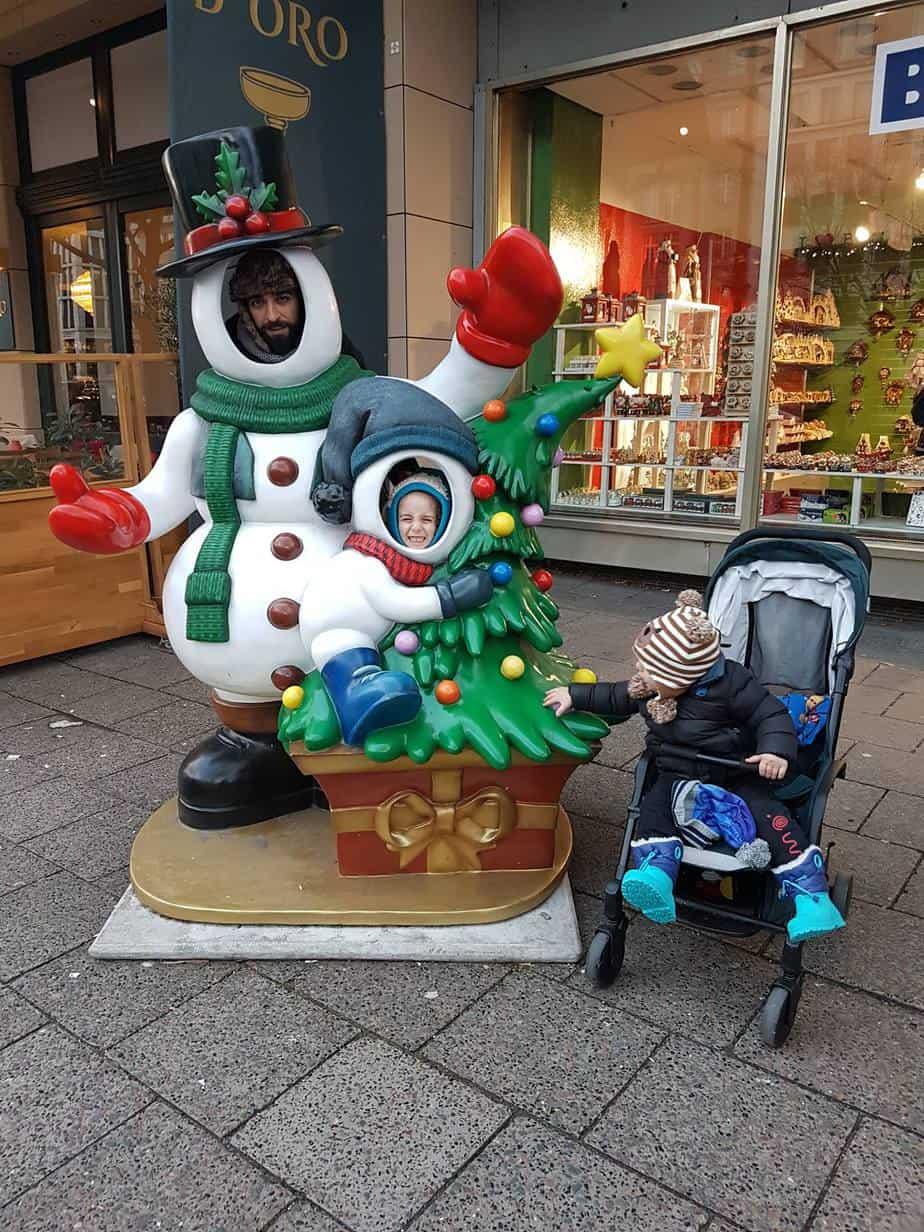 ברלין עם ילדים בחורף - רחובות ברלין