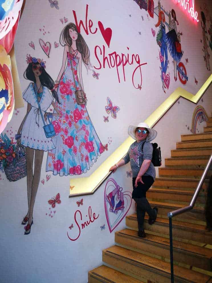 טיול בת מצווה לפריז ולאנגליה - קניות