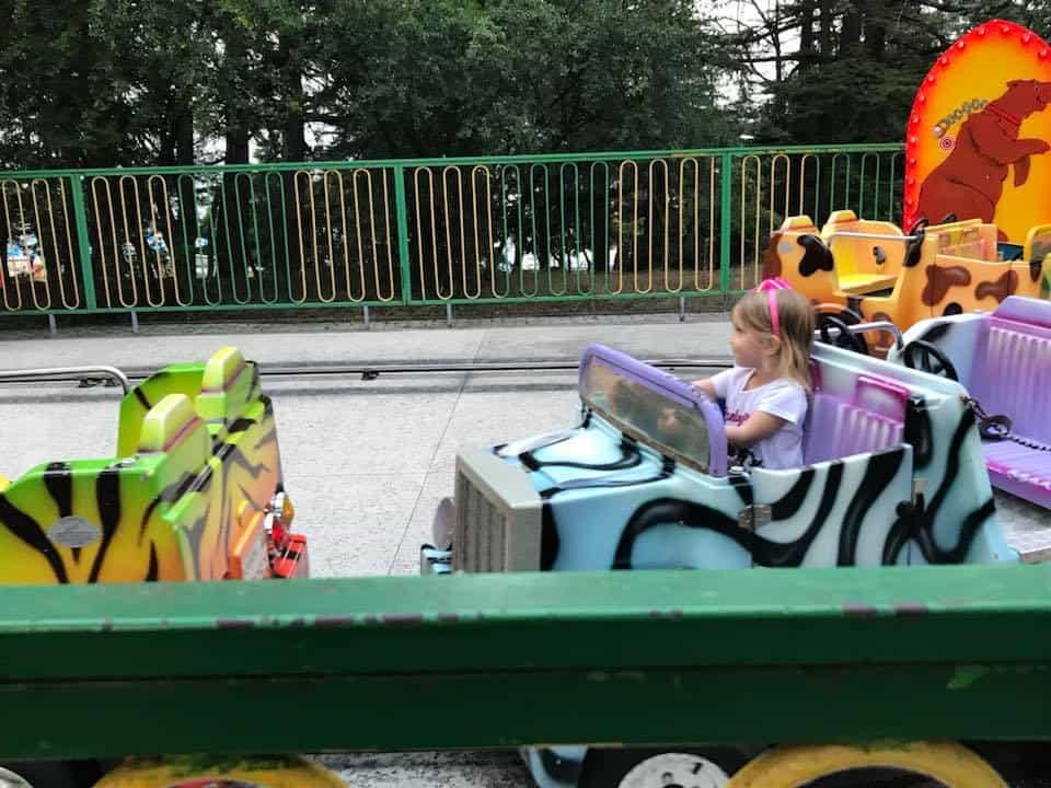 גיאורגיה עם מתבגרים -הלונה פארק בטבליסי