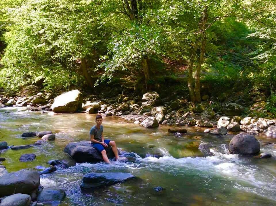 גיאורגיה עם מתבגרים - הנהר