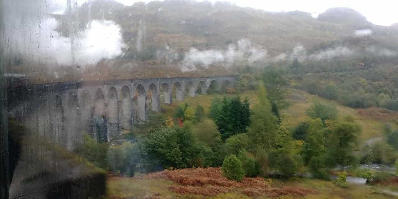 טיול בת מצווה לסקוטלנד - הגשר של הארי פוטר