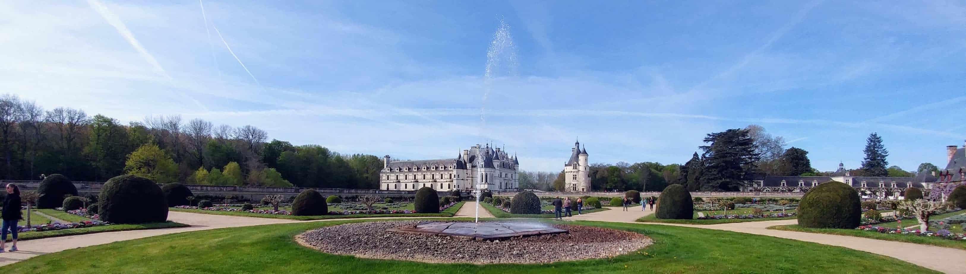 עמק הלואר עם ילדים - ארמון שננסו Chenonceau.jpg הגנים