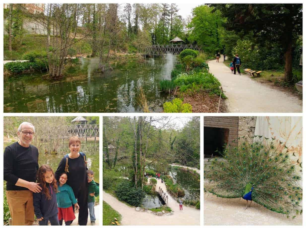 עמק הלואר עם ילדים - דה וינצ׳י Clos Luce הגינה