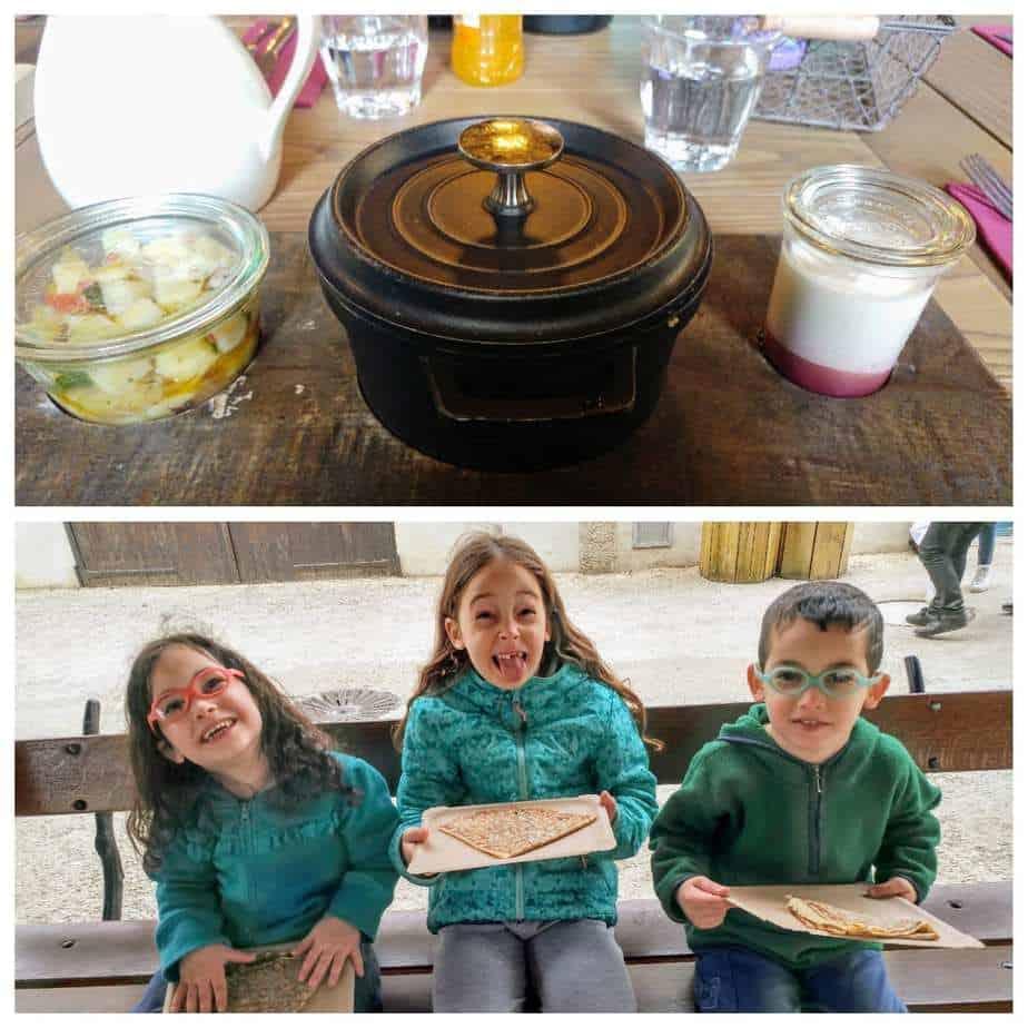 עמק הלואר עם ילדים - האוכל Puy du Fou