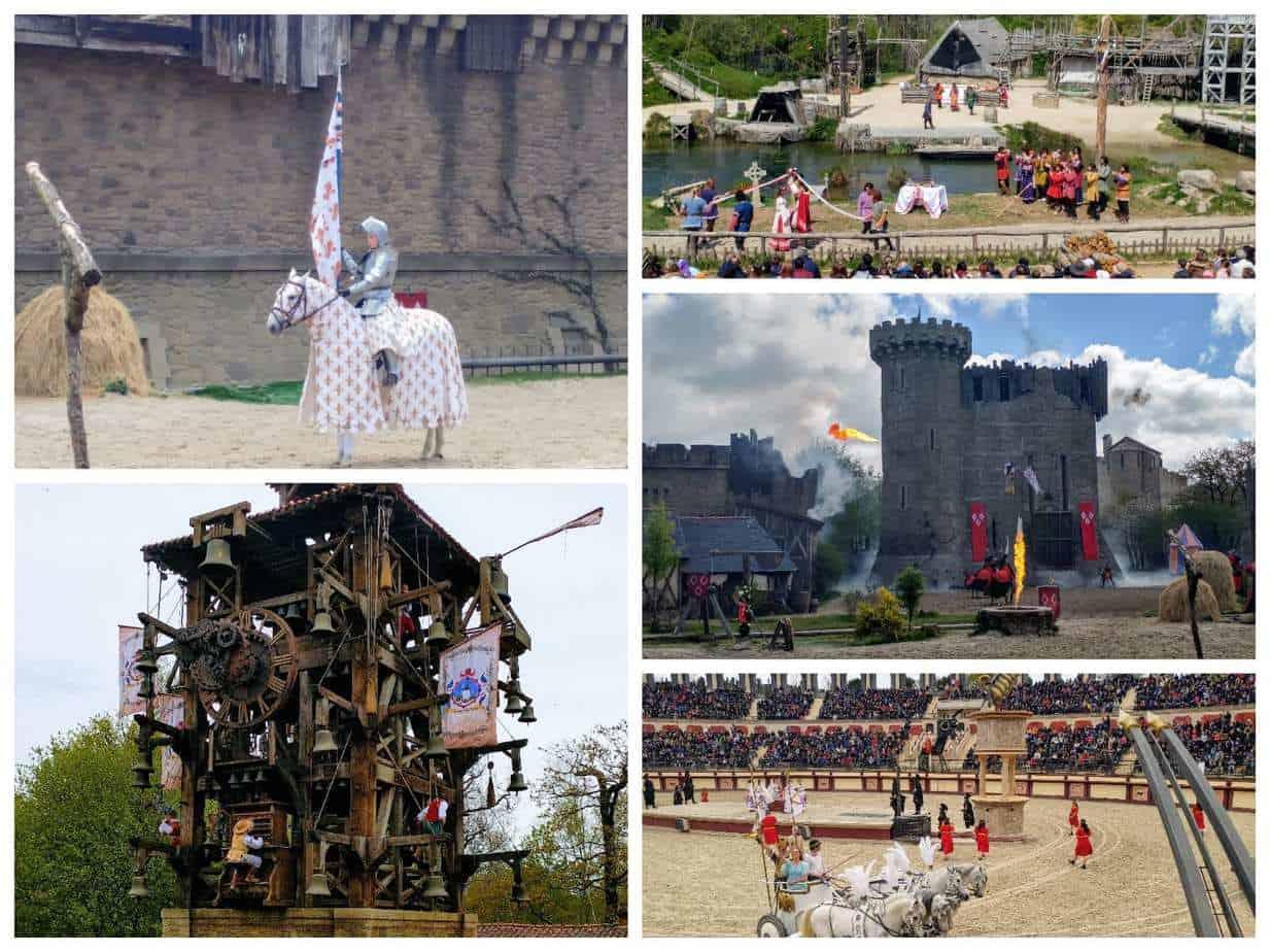 עמק הלואר עם ילדים - המופעים Puy du Fou