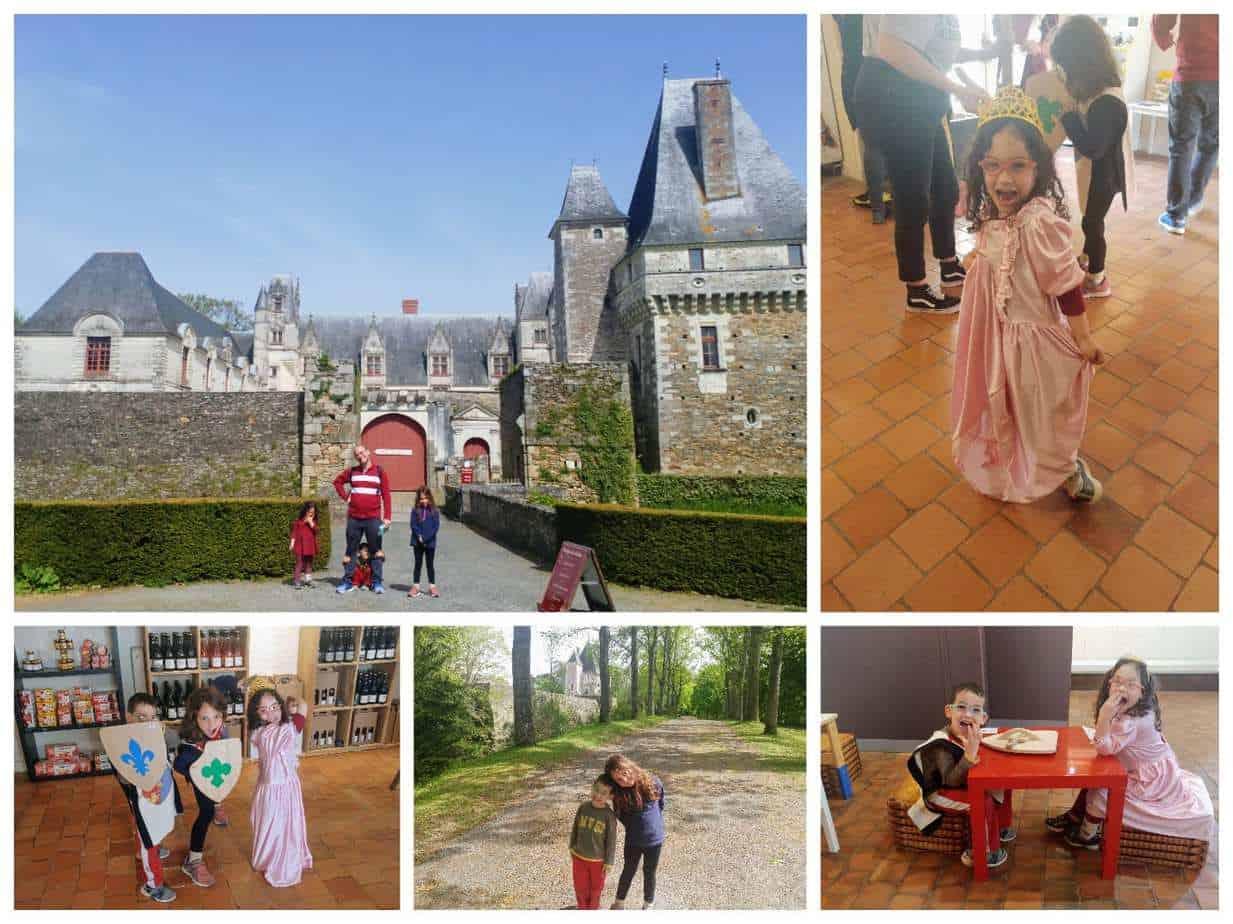 עמק הלואר עם ילדים - Château de Goulaine