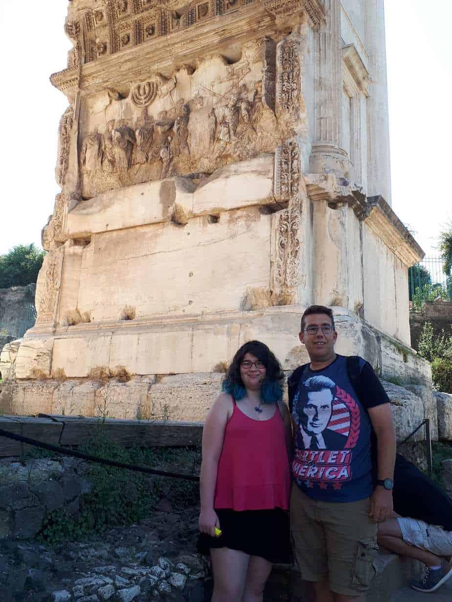 רומא עם מתבגרים - הפורום הרומי