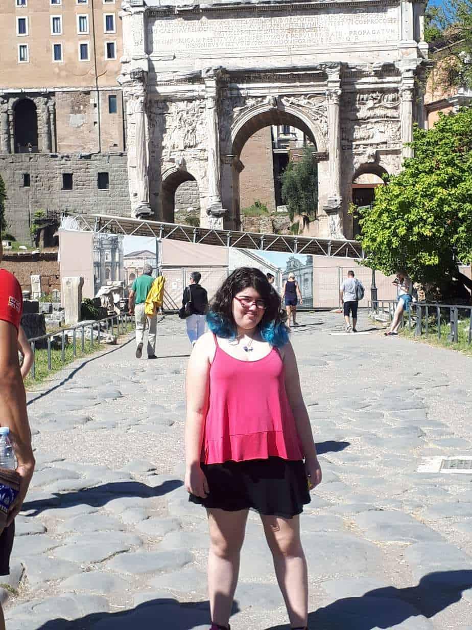 רומא עם מתבגרים - שער טיטוס