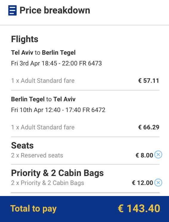 טיסות זולות לברלין בפסח כשמזמינים 11 חודשים מראש
