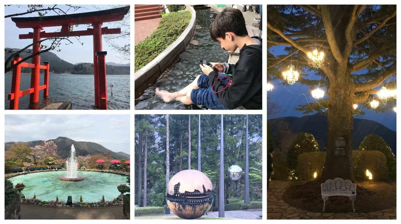 טיול בר מצווה ביפן - האקונה