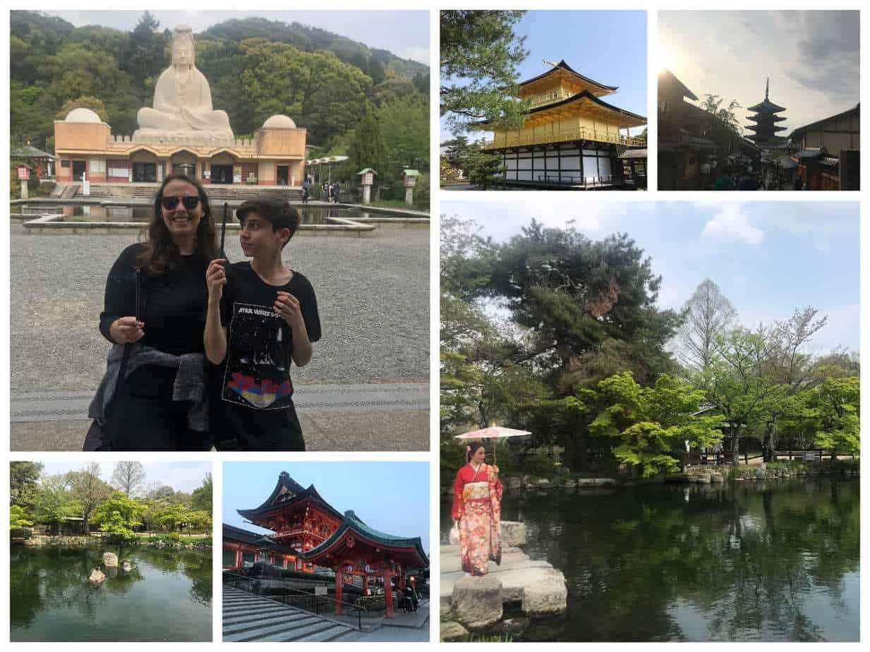 טיול בר מצווה ביפן - קיוטו