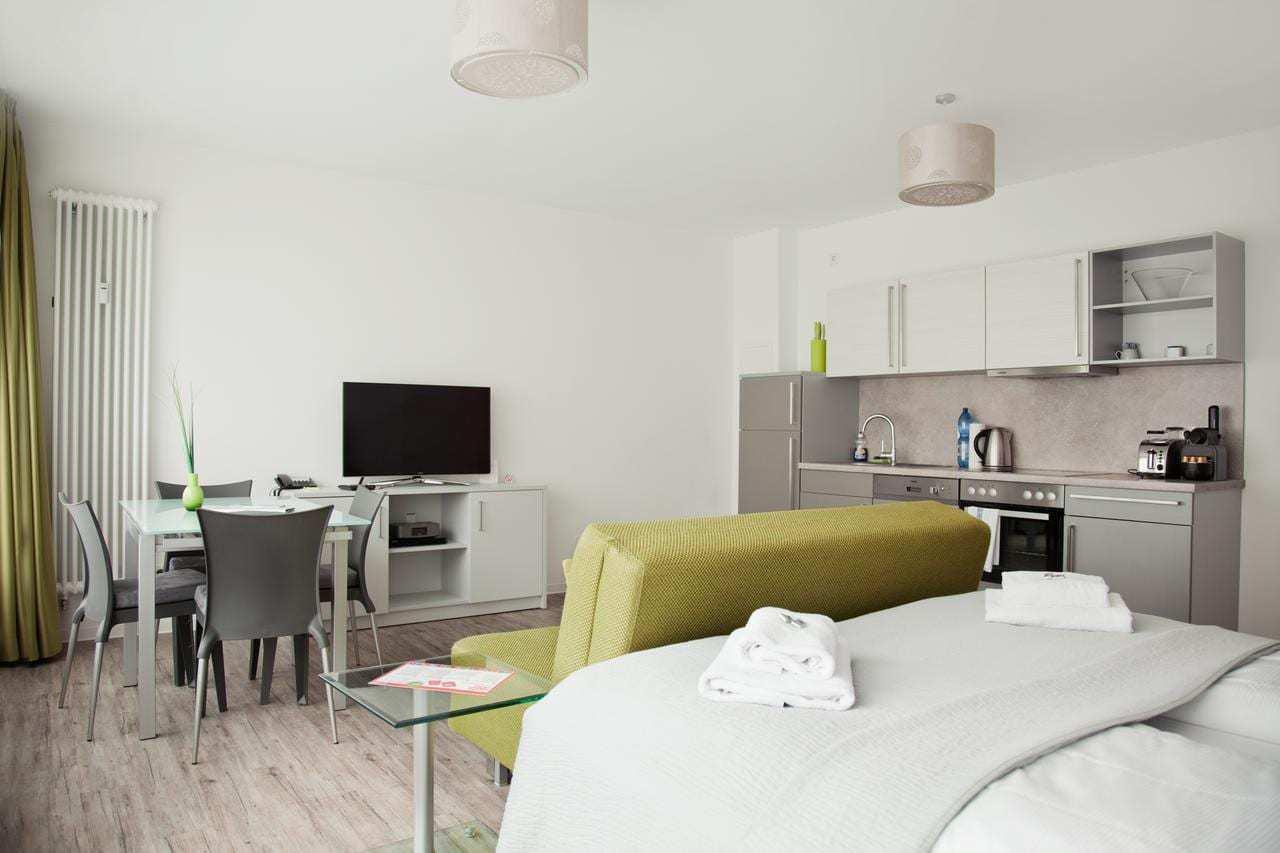 מלונות בברלין למשפחות - Apartments Rosenthal Residence