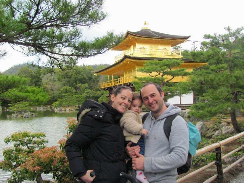 איך לחסוך כסף ביפן - בקרו באטרקציות חינמיות או זולות - ה-Golden Pavilion בקיוטו