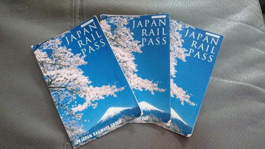 פס הרכבת של יפן - הפס הרישמי