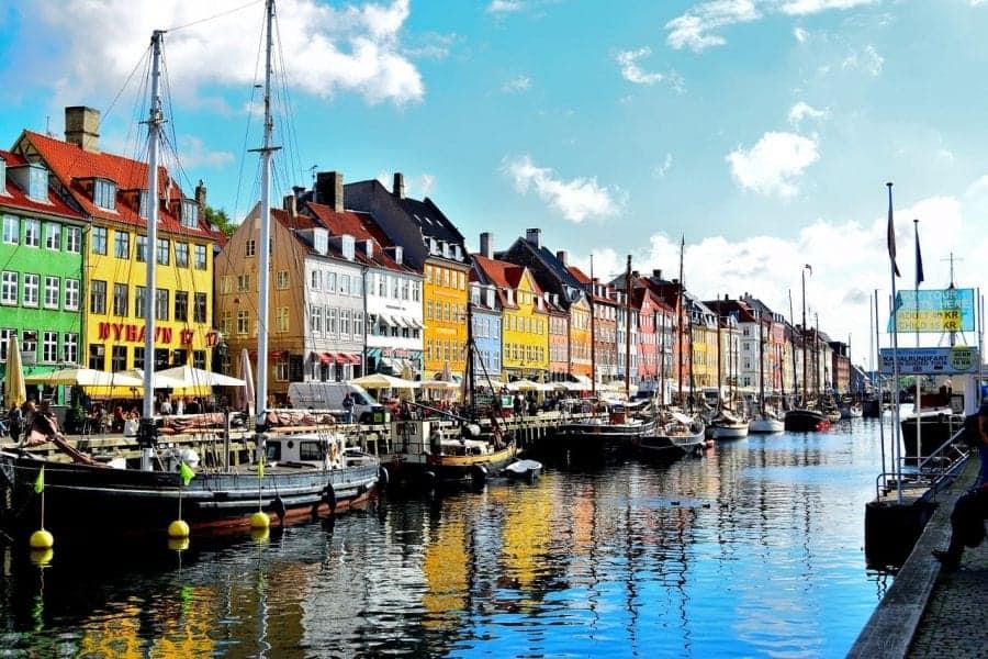 דנמרק עם ילדים - Nyhavn