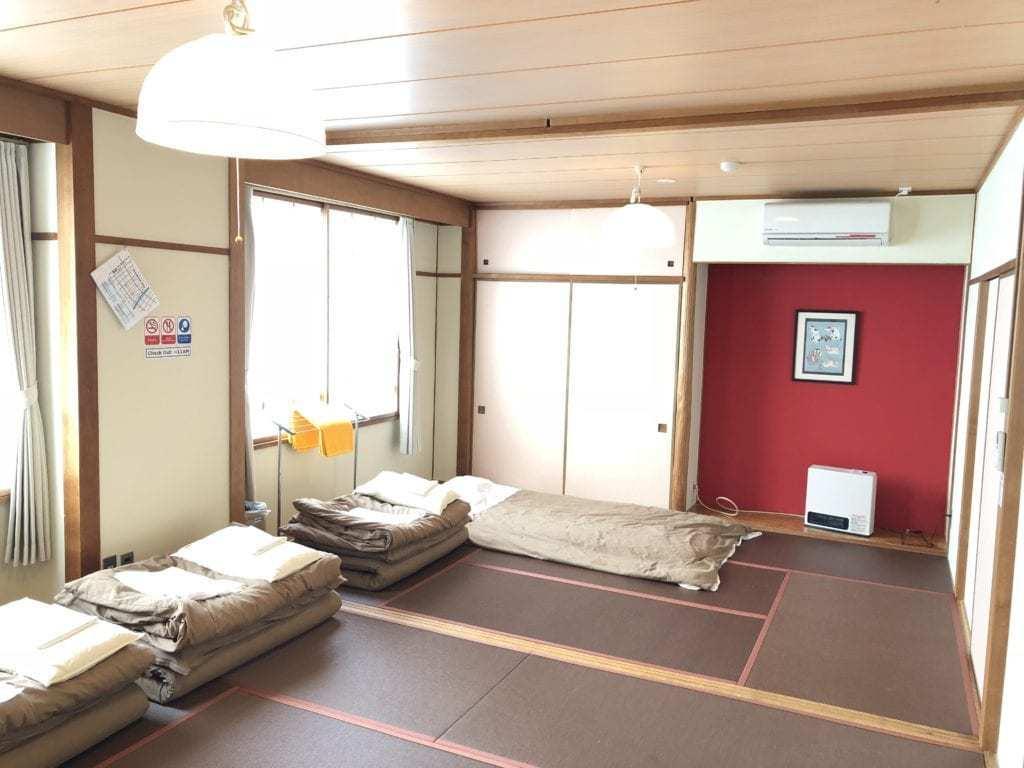 מלונות בטאקיאמה למשפחות - Sora-ama hostel