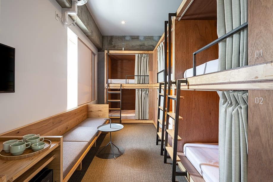מלונות בקיוטו למשפחות - The Share Hotels Tsugu