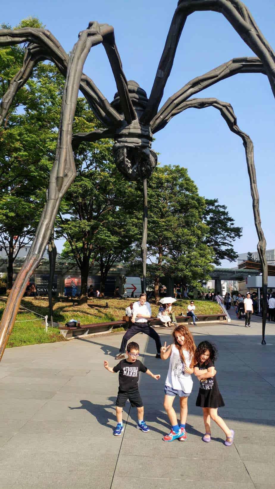 טוקיו עם ילדים - העכביש ברופונגי Roppongi
