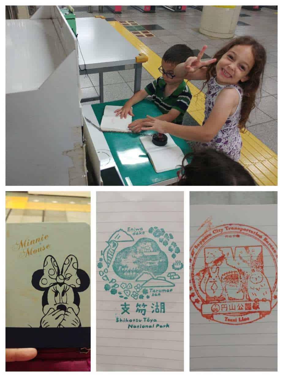 טוקיו עם ילדים - חותמות, חותמות בכל מקום