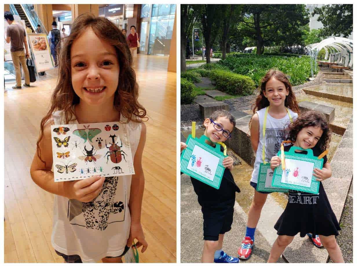 טוקיו עם ילדים - משימת החרקים