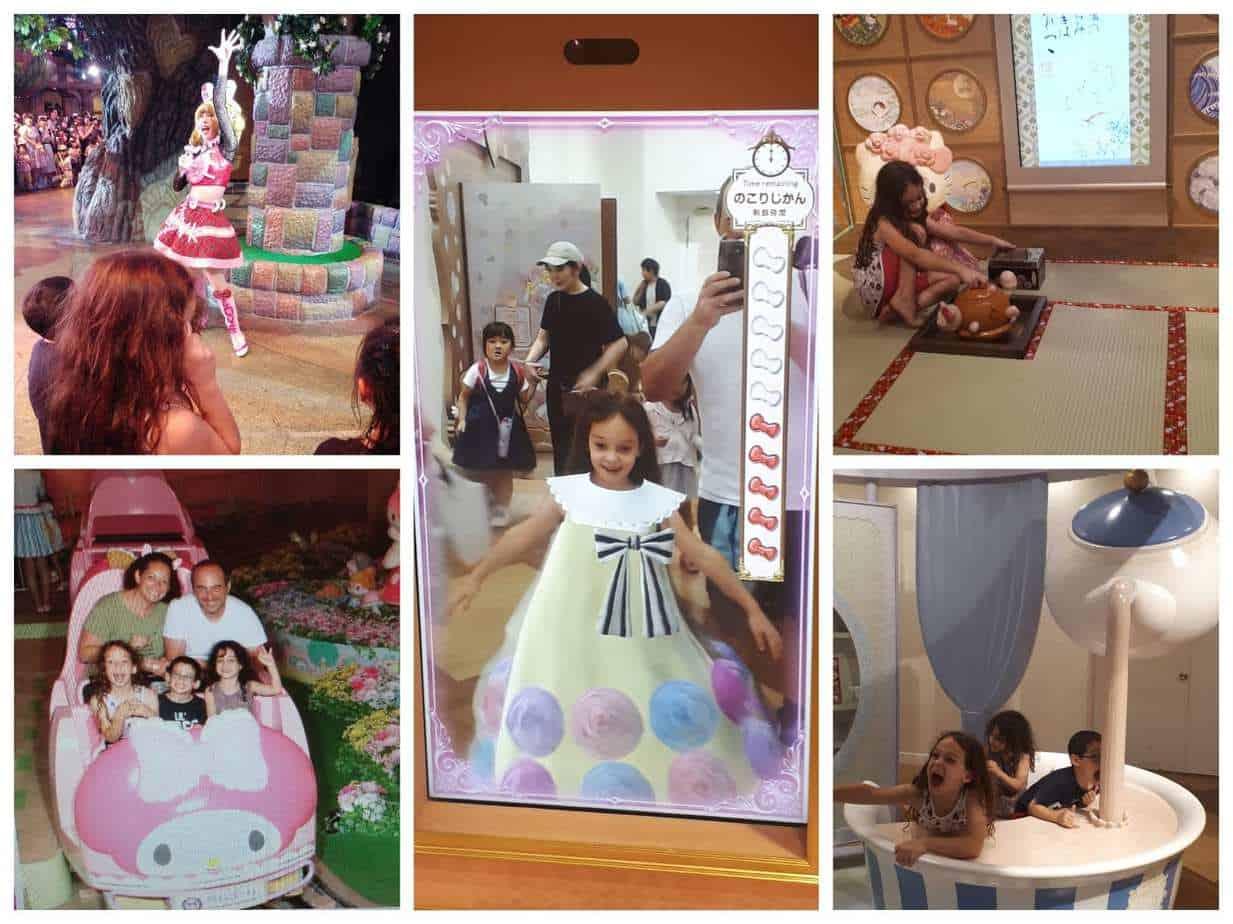 טוקיו עם ילדים - עולם סנריו הלו קיטי Sanrio Puroland Hello Kitty