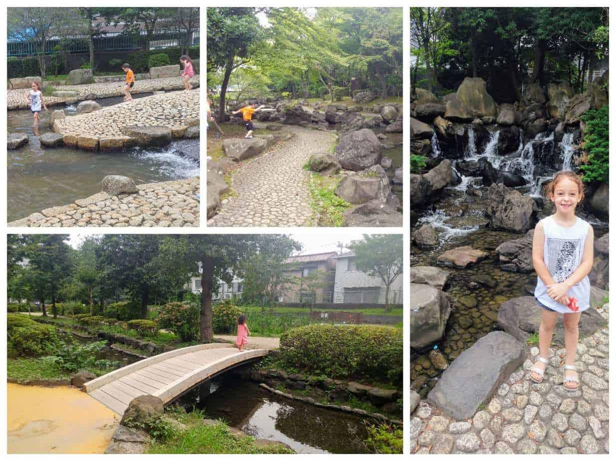 טוקיו עם ילדים - פארק Ohyokogawa-shinsui