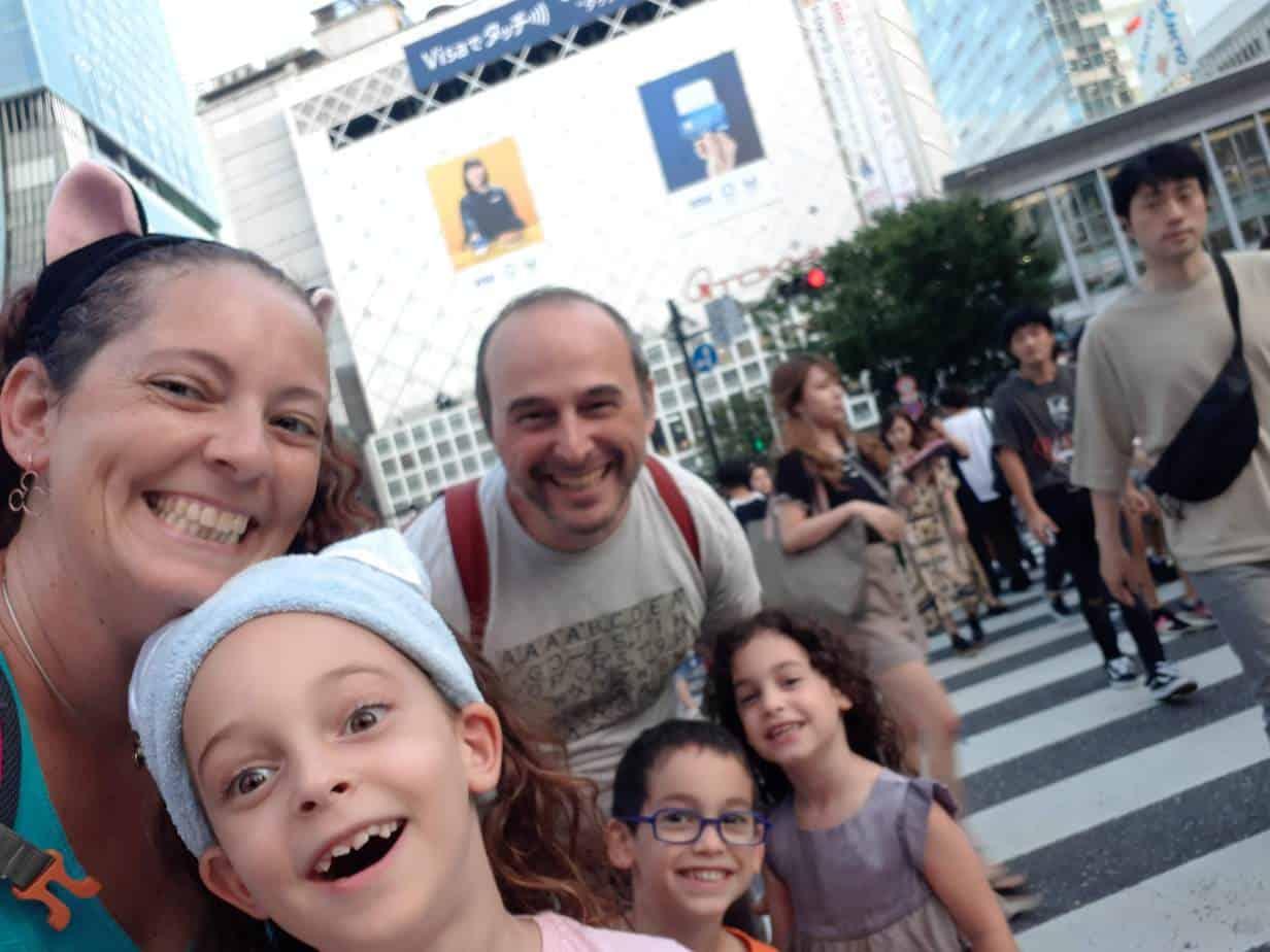 טוקיו עם ילדים - צומת שיבויה - אז לא הכל מושלם