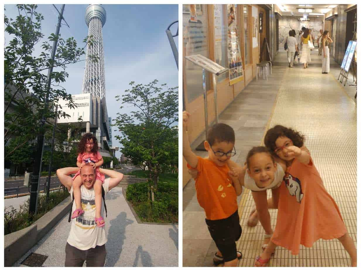 טוקיו עם ילדים - Skytree סקייטרי