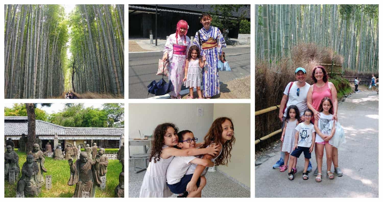 קיוטו עם ילדים - ארישיאמה Arashiyama - יער הבמבוק