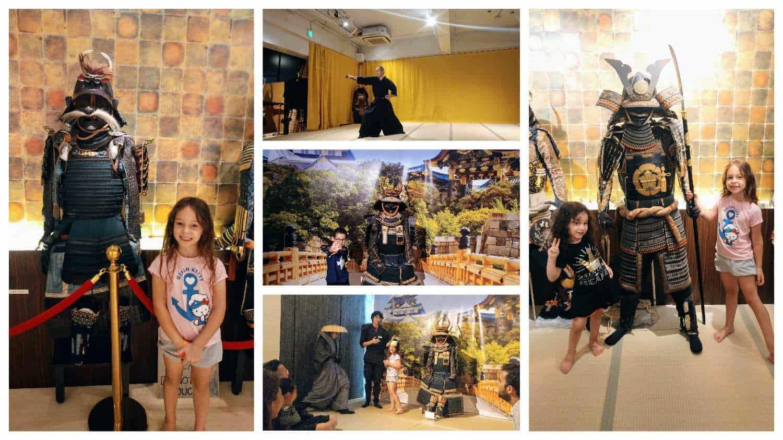 קיוטו עם ילדים - מוזיאון הסמוראי