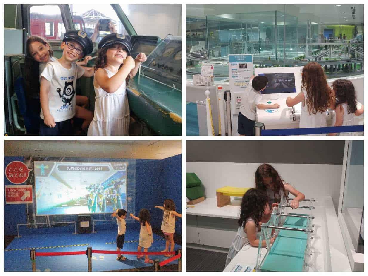 קיוטו עם ילדים - מוזיאון הרכבות