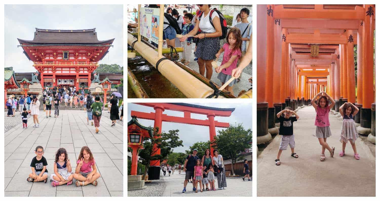 קיוטו עם ילדים - מקדש פושימי אינרי Fushimi Inari