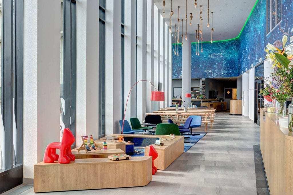 מלונות באמסטרדם למשפחות -Meininger Hotel Amsterdam Amstel - מתוך האתר הרישמי