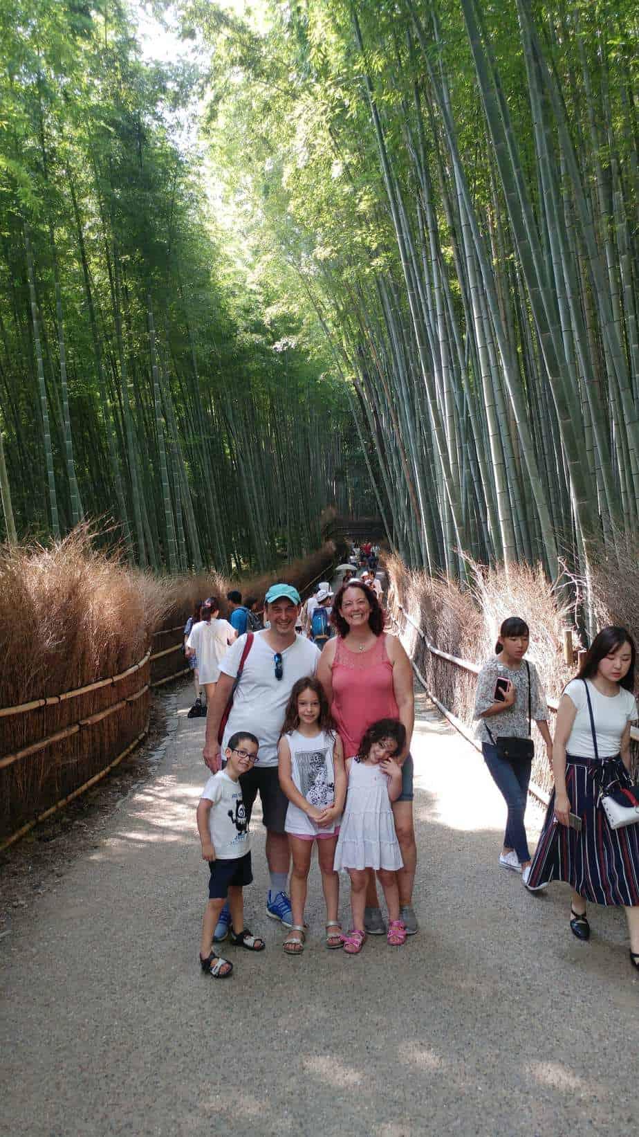 קיוטו עם ילדים - יער הבמבוק ארשיאמה Arashiyama