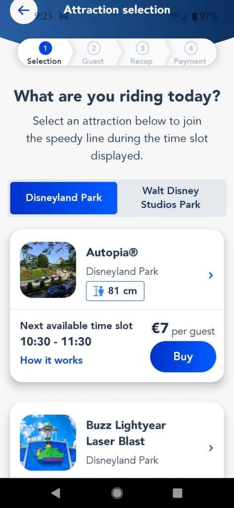 דיסנילנד פריז עם ילדים 2021 - כרטיסי Disney Premiere