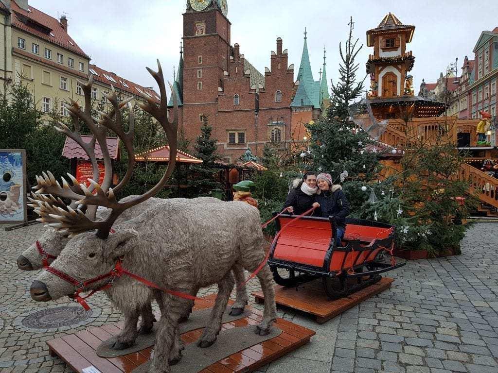 שוק חג מולד בוורוצלב - בלוג אפקים מטיילים