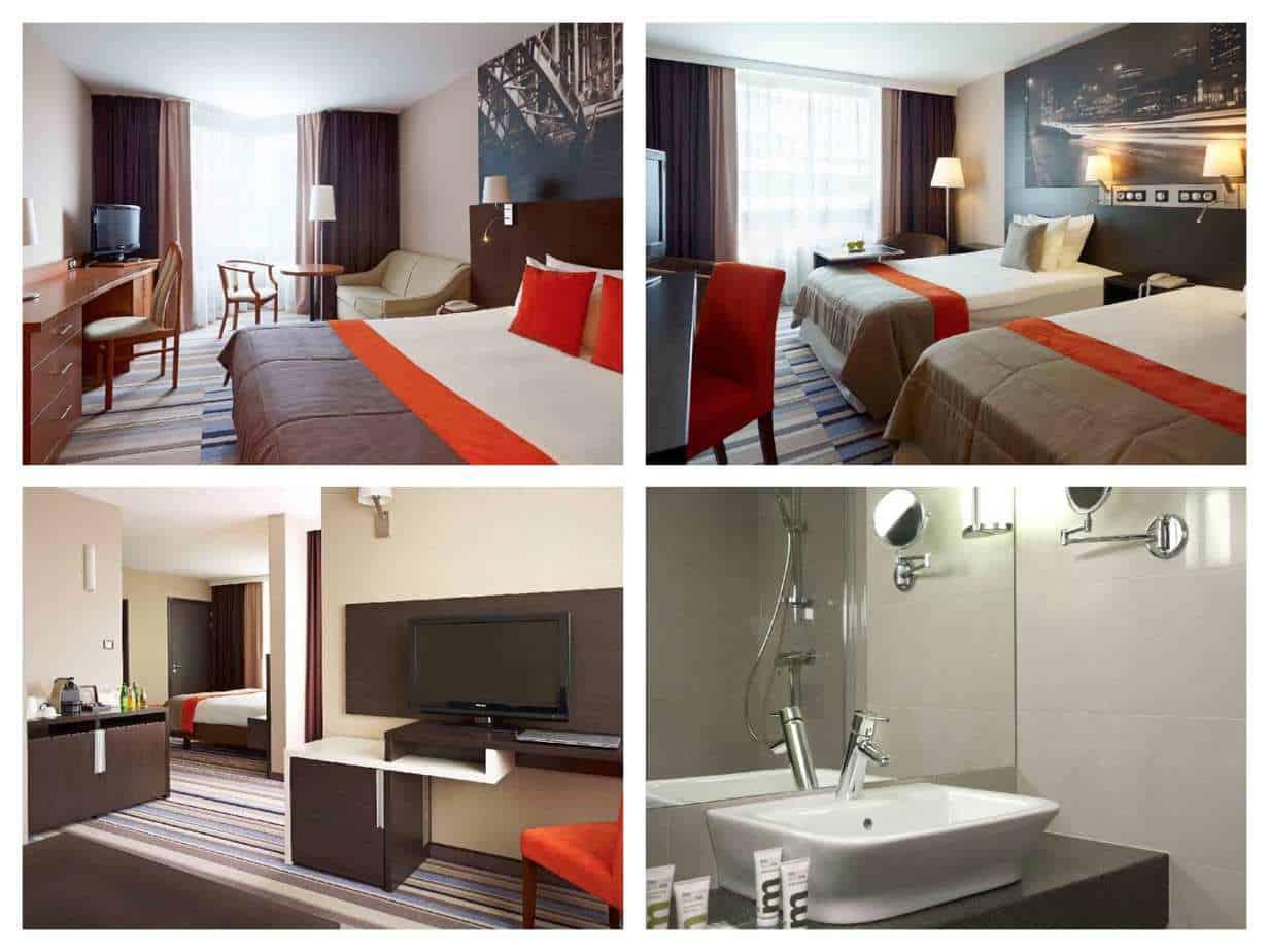 מלונות מומצלים בורשה למשפחות - Mercure Warszawa Centrum תמונות החדרים מהאתר הרשמי