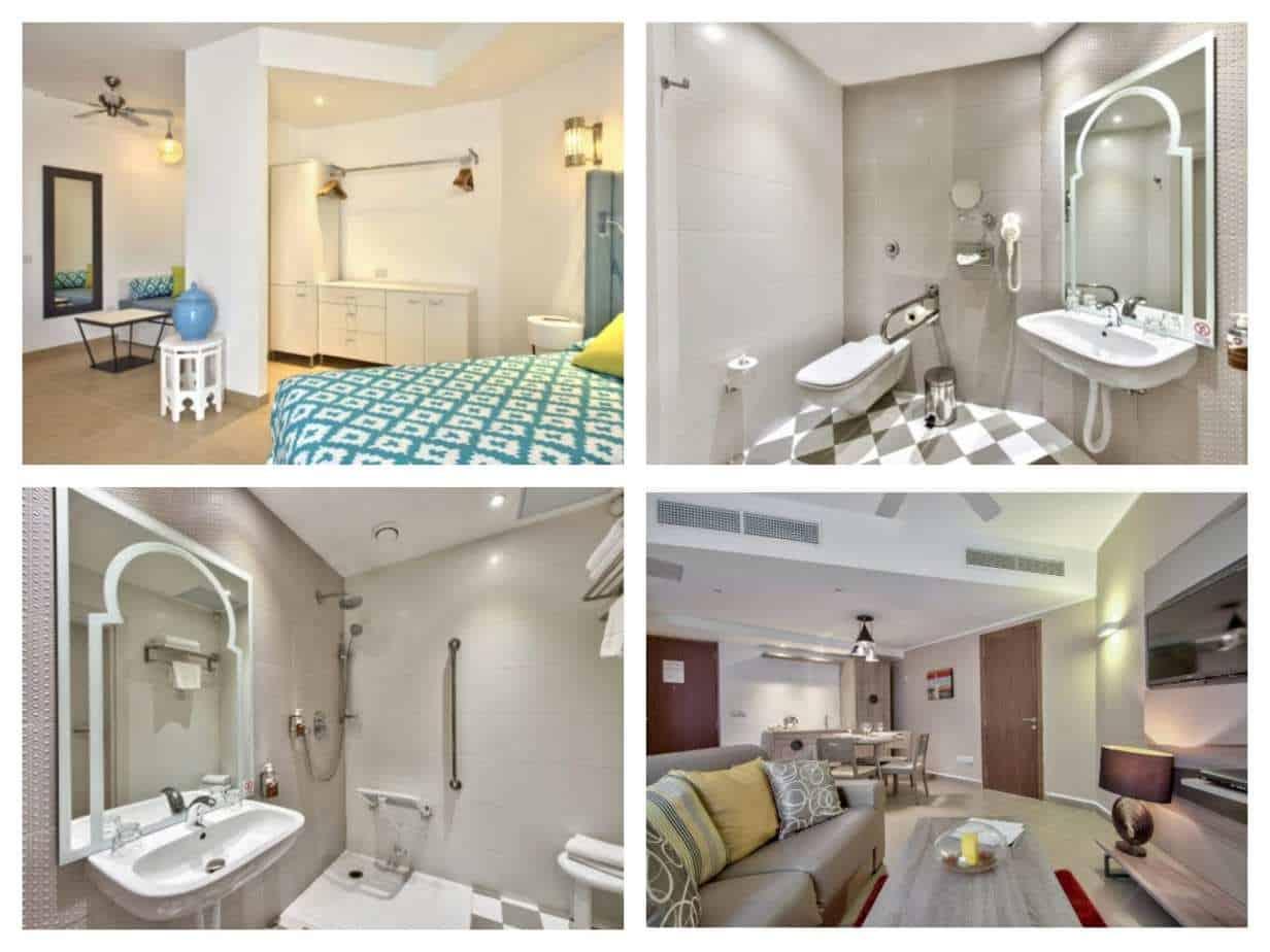 db San Antonio Hotel + Spa All Inclusive חדרים מתוך האתר הרשמי