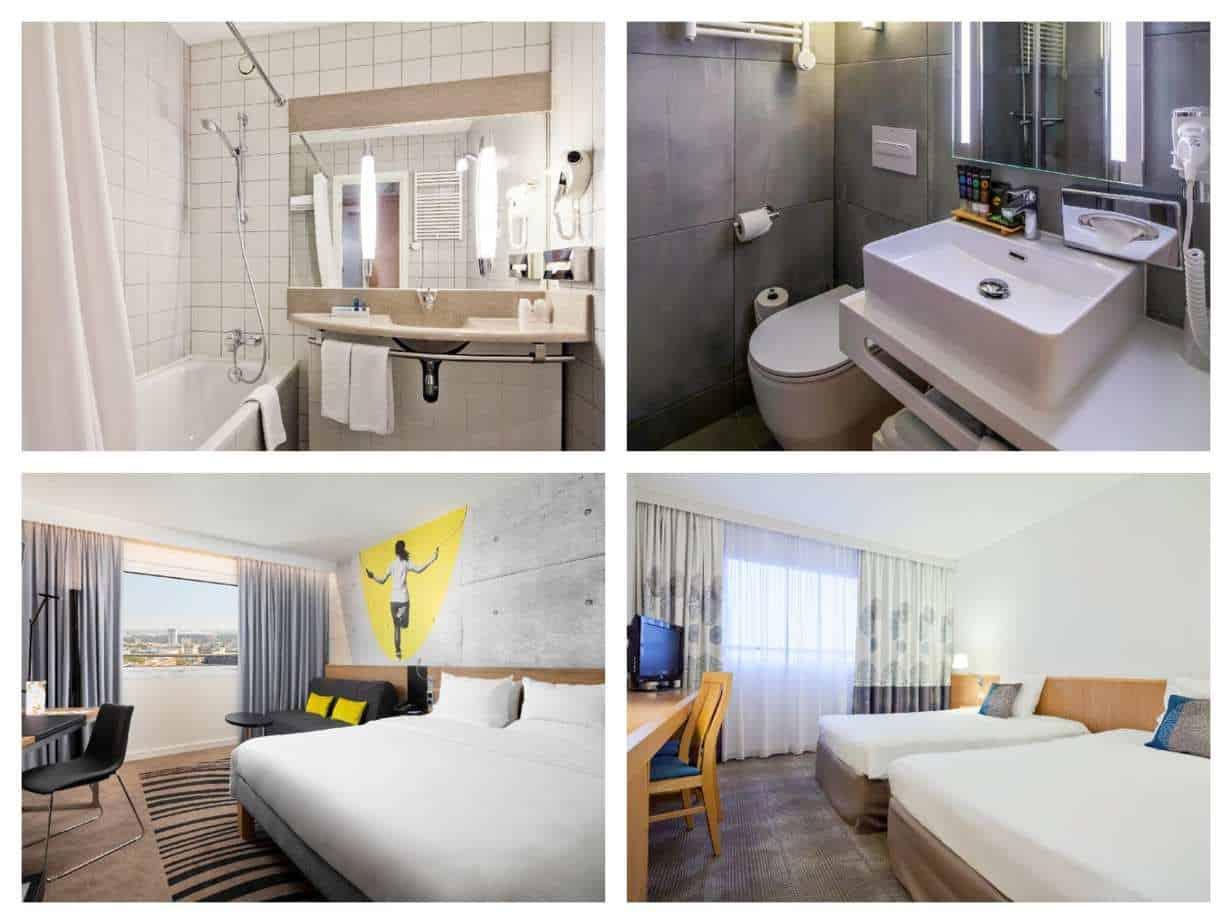מלונות מומצלים בורשה למשפחות - Novotel Warszawa Centrum Hotel תמונות החדרים מתוך האתר הרשמי