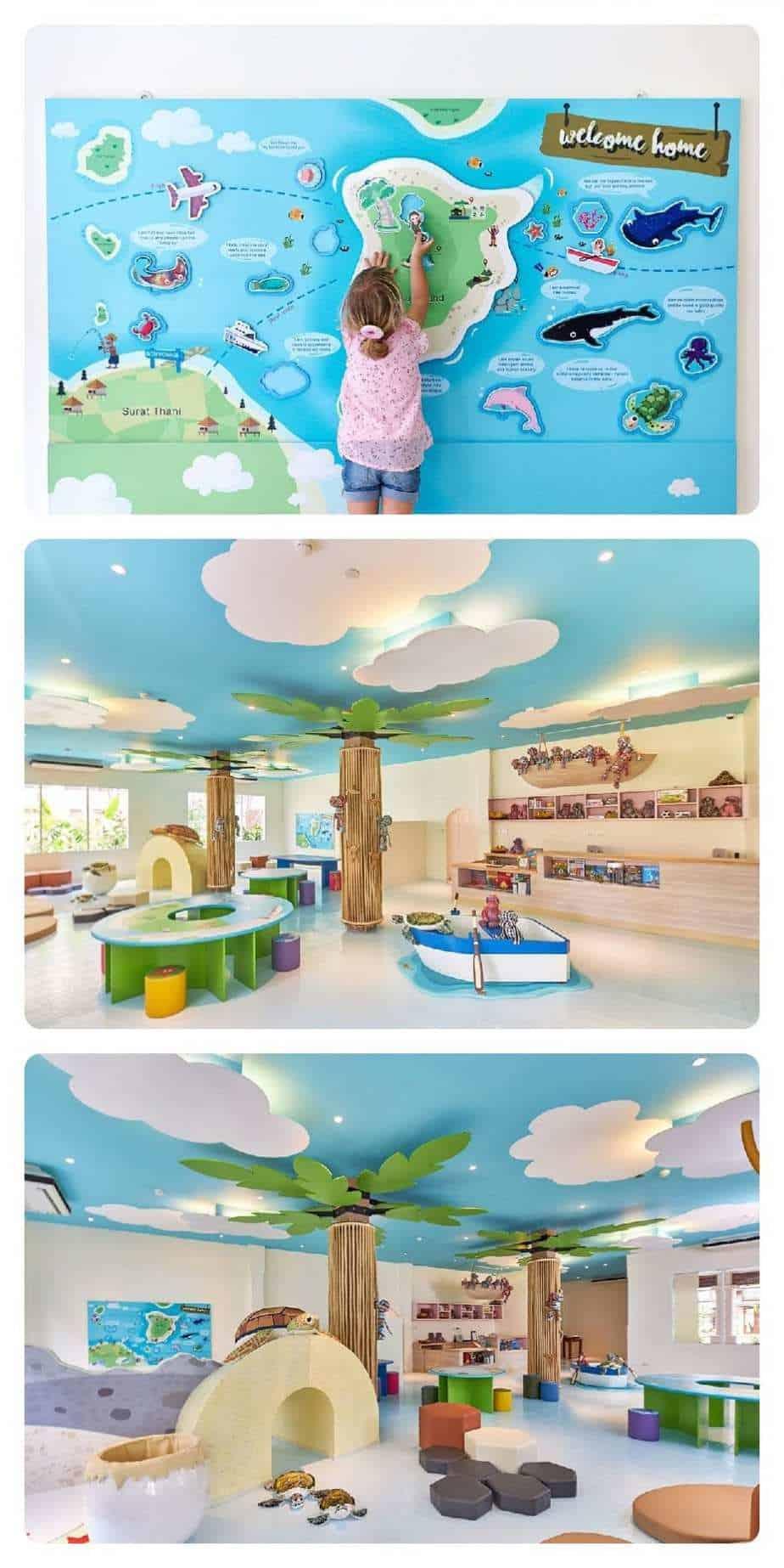 מלונות בקו סמוי למשפחות עם ילדים Bandara Resort & Spa מועדון הילדים - תמונות מתוך האתר הרשמי
