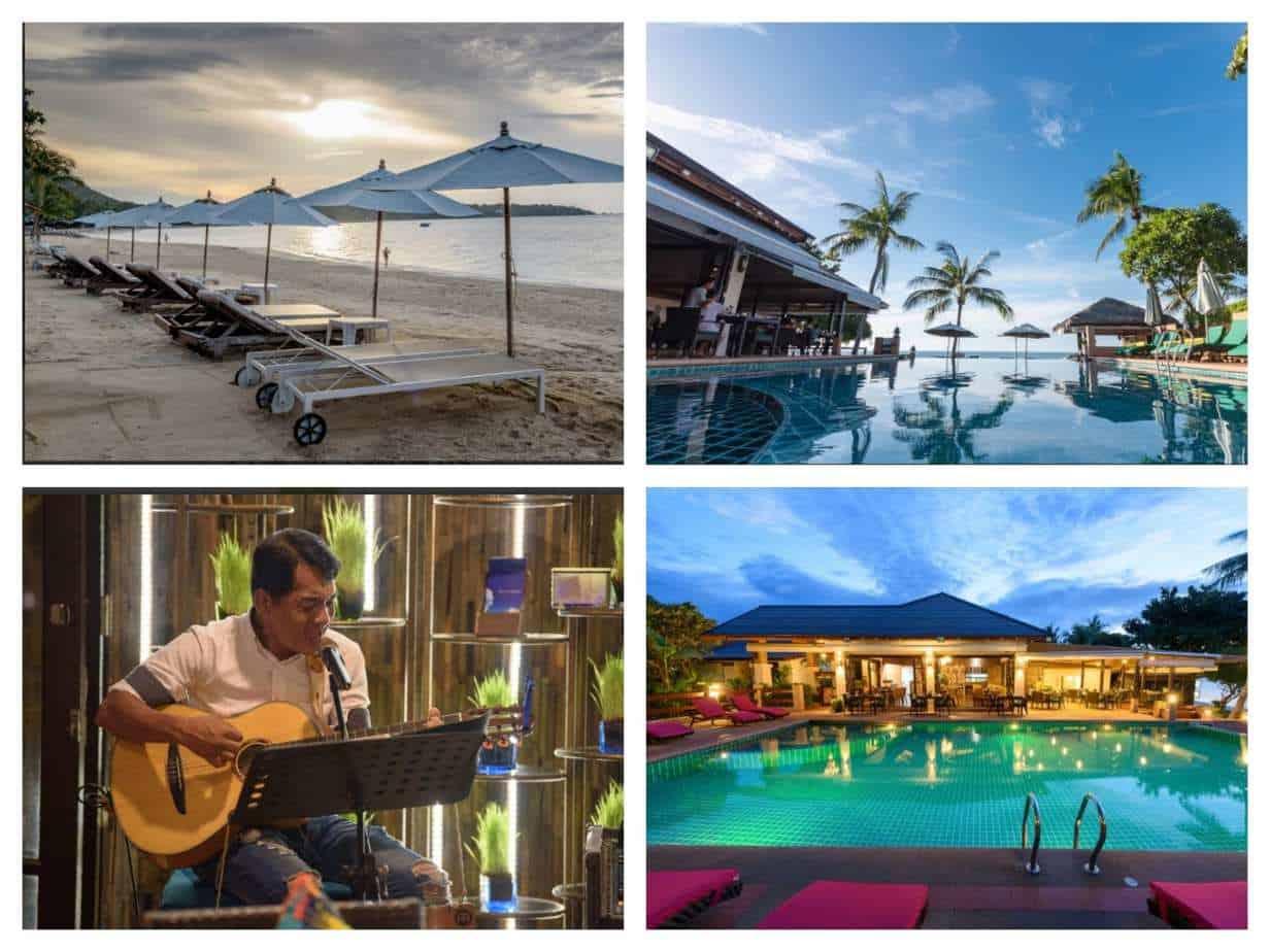 מלונות בקו סמוי למשפחות עם ילדים Samui Jasmine Resort תמונות הבריכה והחוף מתוך האתר הרשמי