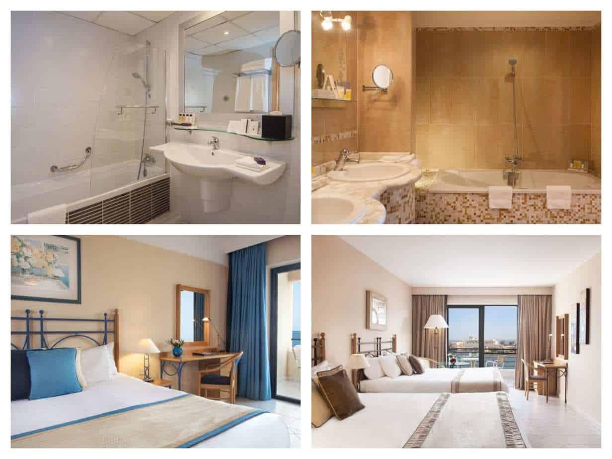 Marina Hotel Corinthia Beach Resort Malta תמונות החדרים מתוך האתר הרשמי