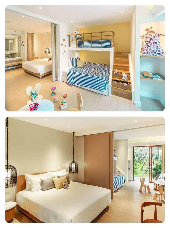 מלונות בקו סמוי למשפחות עם ילדים Bandara Resort & Spa תמונות חדרי המשפחה מהאתר הרשמי