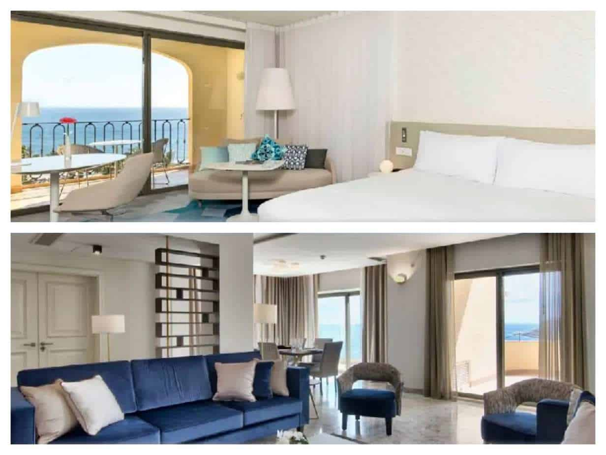 Hilton Malta תמונות החדרים מתוך האתר הרשמי