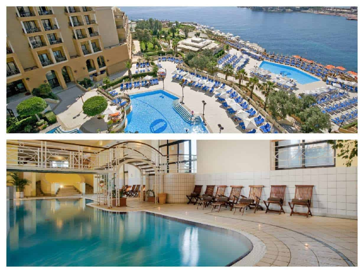 Marina Hotel Corinthia Beach Resort Malta בריכות - תמונות מתוך האתר הרשמי